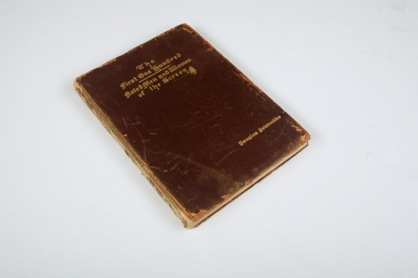 21: DOUGLAS FAIRBANKS OWNED BOOK