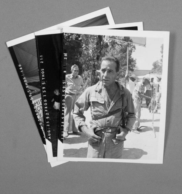 136: HUMPHREY BOGART WARDROBE PHOTOGRAPHS