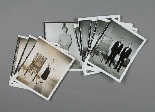 137: MGM WARDROBE PHOTOGRAPHS DORIS DAY, ROWAN & MARTIN