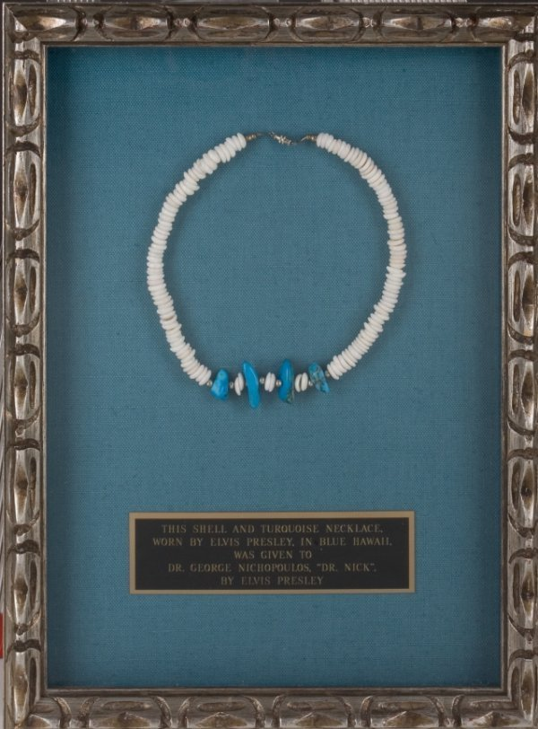 279: ELVIS OWNED AND WORN PUKA SHELL NECKLACE