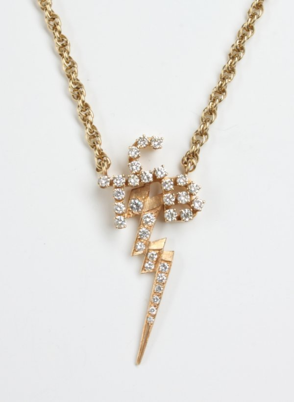 280: ELVIS GIFTED TCB NECKLACE