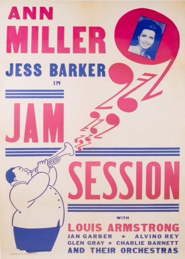 "432: ""JAM SESSION"" MOVIE POSTER"