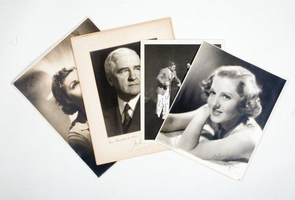 437: ORIGINAL VINTAGE PHOTOS INSCRIBED TO ANN MILLER