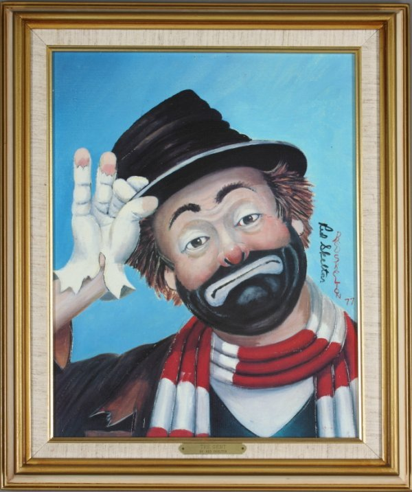"""438: LIMITED EDITION """"THE GENT"""" BY RED SKELTON"""