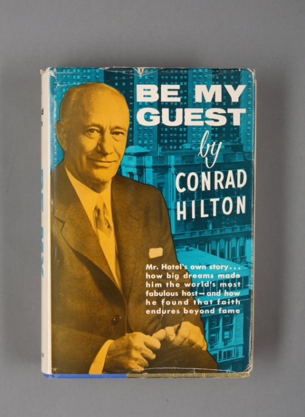 441: CONRAD HILTON BOOKS INSCRIBED TO ANN MILLER