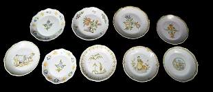 QUIMPER FRENCH FAIENCE PLATES