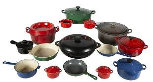 GROUP OF LE CREUSET OVENWARE
