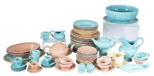 SET OF GLADDING MCBEAN FRANCISCAN DINNERWARE