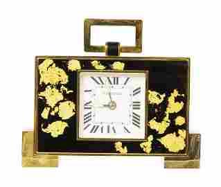 CARTIER 150TH ANNIVERSARY LIMITED EDITION DESK CLOCK