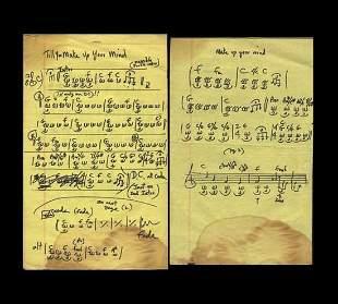 Handwritten Scores by Delaney Bramlett