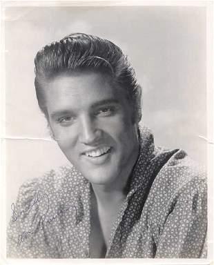 Elvis Presley Signed Photo (Front)