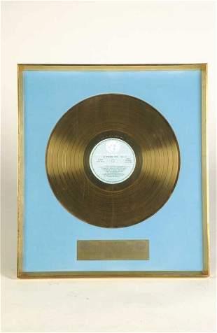 Delaney Bramlett Gold Record Award