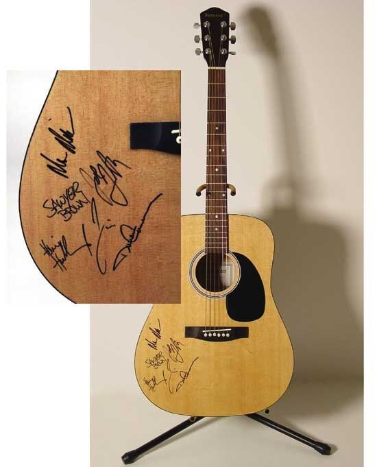 Guitar Signed by Sawyer Brown