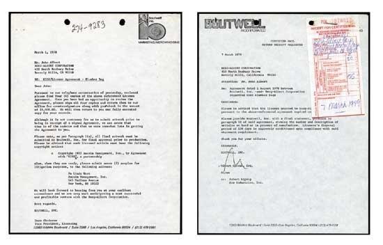 KISS Original Sleeping Bag Document Archive