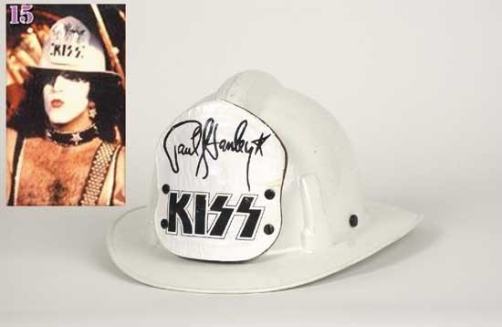 Paul Stanley '79 Tour Fire Helmet