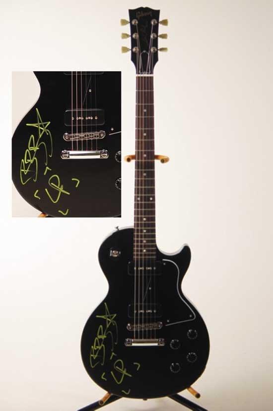 Signed Linkin Park Guitar