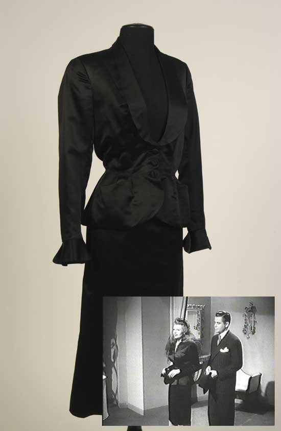 Rita Hayworth Suit from Gilda