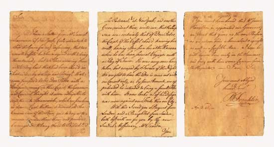 Benjamin Franklin Handwritten Letter Signed