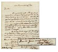 Benjamin West Handwritten Signed Letter