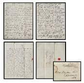 Franklin Pierce Handwritten Signed Letter