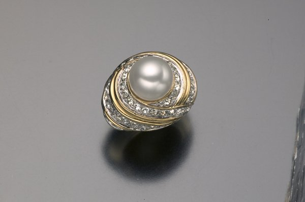 1: ANN MILLER ESTATE JOMAZ COCKTAIL RING