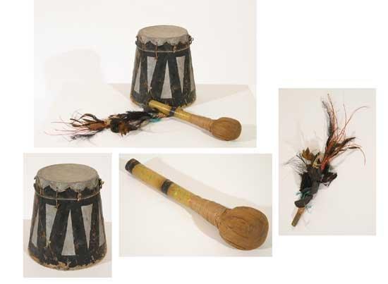 King Kong  Native Drum & Decoration (1933)