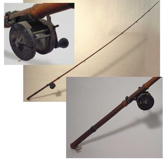 Lon Chaney Sr. Owned & Used Fishing Pole
