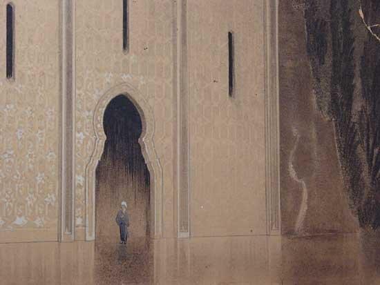 Thief of Baghdad Arabian Concept Art 1924