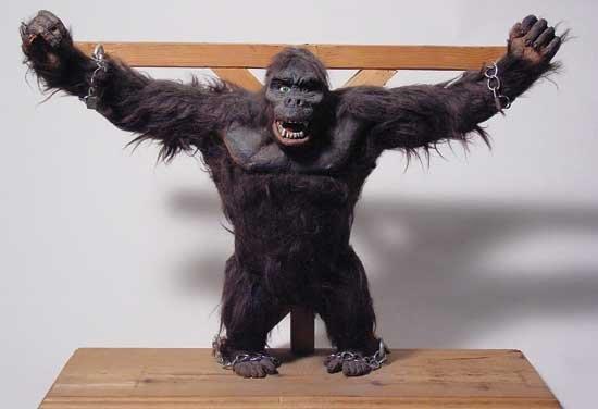 Rare King Kong Figure by Marcel Delgado 1968