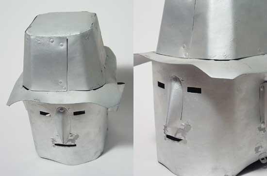 Phantom Empire Robot Head from 1935
