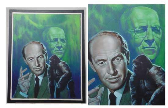 Mighty Joe Young Harryhausen O'Brien Painting