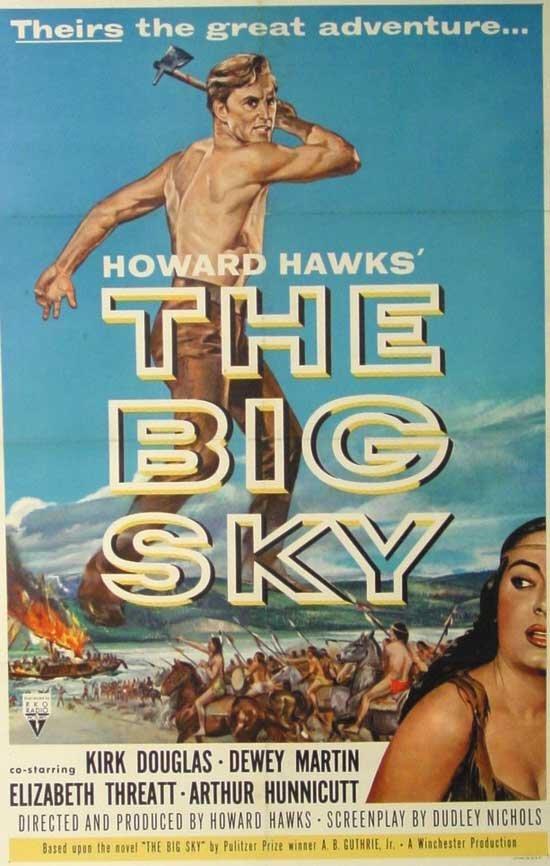 The Big Sky Original 1-Sheet Litho (1952)