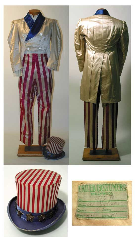 Al Jolson Uncle Sam Costume from Swanee River