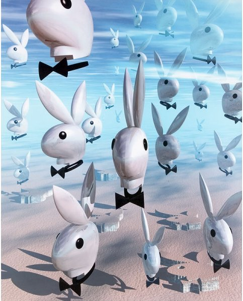 "7: Playboy; ""Flying Bunnies"""