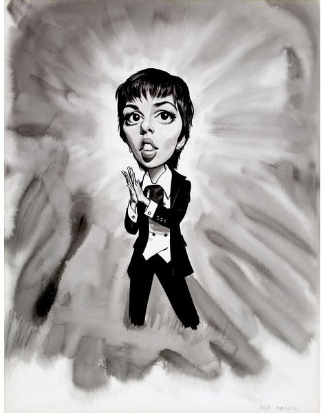 15: Liza Minelli Original Published Art