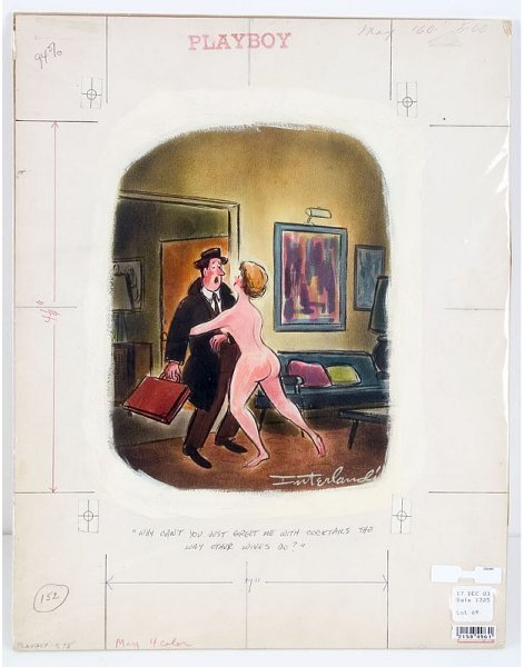 14: Phil Interlandi Original Playboy Art