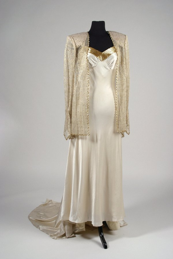 LIFE WITH JUDY GARLAND: Evening gown for part