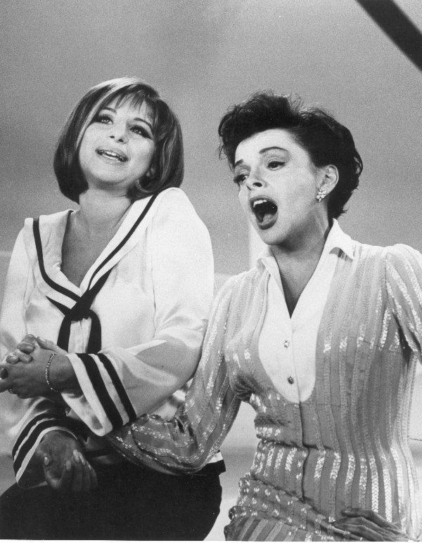 154: Barbra Streisand Judy Garland Show Sailor Top      - 3