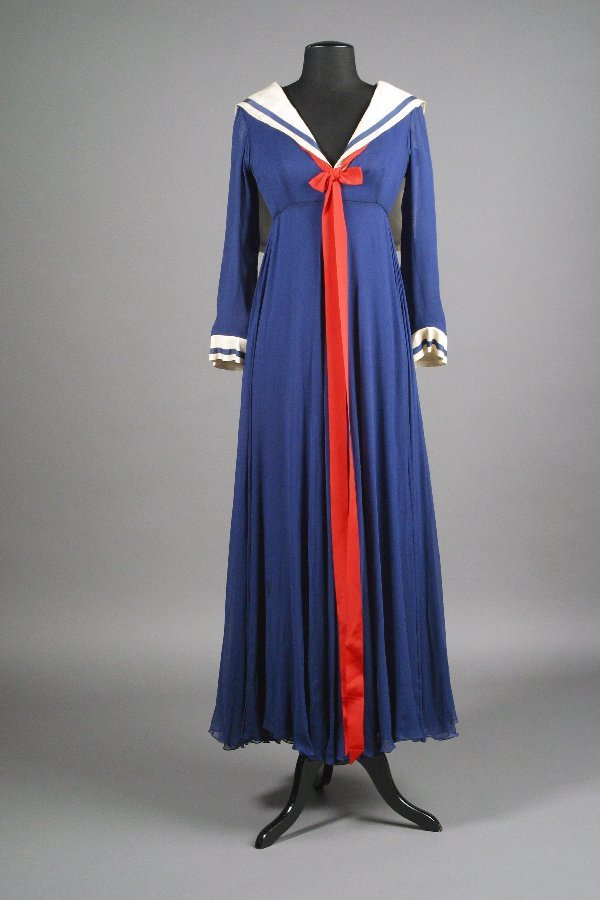 421: Barbra Streisand My Name Is Barbra Sailor Dress