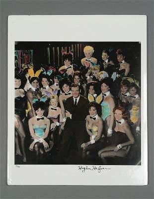 PLAYBOY: Hugh Hefner Signed Photograph