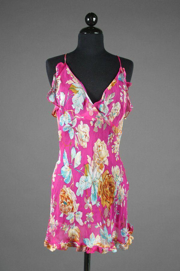 PLAYBOY Christina Santiago Worn Pink Nightgown