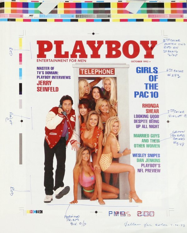 1051: PLAYBOY Jerry Seinfeld Cover Layout