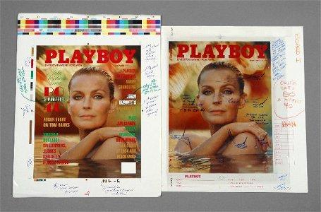 1055: PLAYBOY Bo Derek Cover Layout