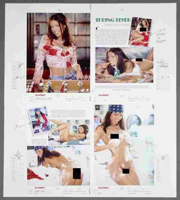 PLAYBOY Carmella DeCesare Pictorial Layout