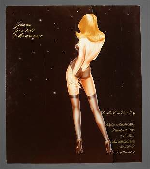 Playboy Mansion New Year's Eve Party Poster