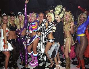 Party w/ Hef And Playmates At His Halloween Party