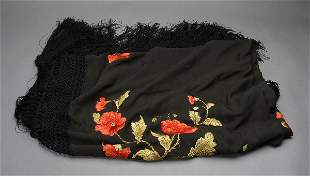 Rudolph Valentino Owned Shawl