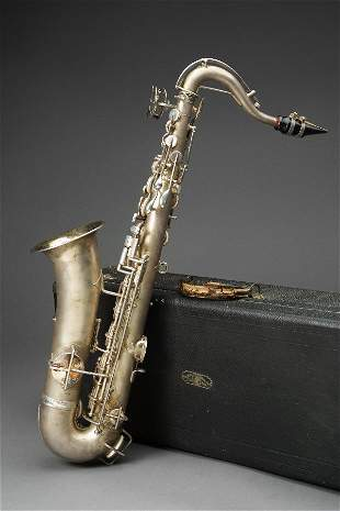 Charlie Chaplin Personally Owned Saxophone