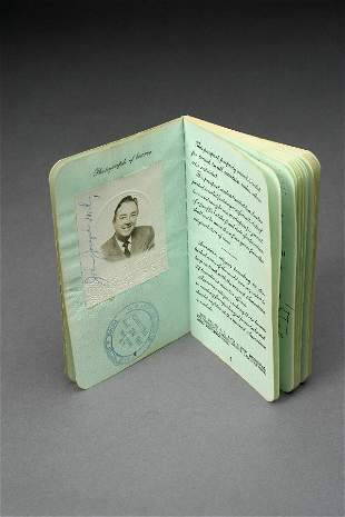Jack Haley Passport