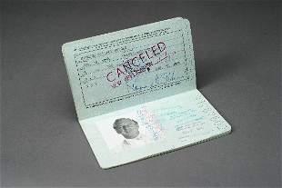 Ray Bolger Passport